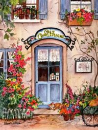 French Cafe by Sherri Crabtree