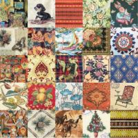 PATCHWORK TAPESTRY 2
