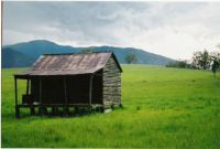 Foot hill shack, Rathdowney SEQ Austrailia