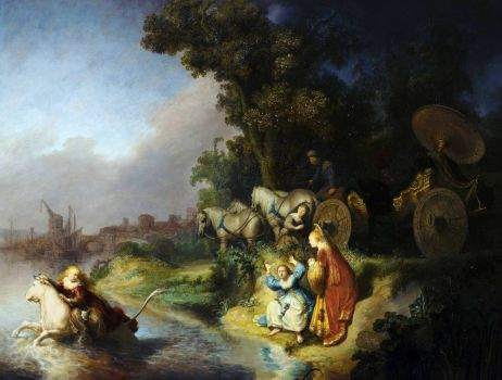 Rembrandt - The Abduction of Europa (1632)