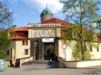 Poděbrady, castle entry
