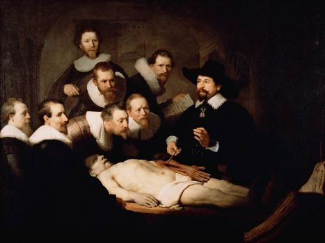 anatomic lesson by Rembrandt