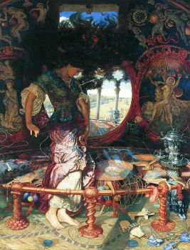 The Lady of Shalott - Holman Hunt