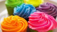 Colorful Cupcakes Wallpaper