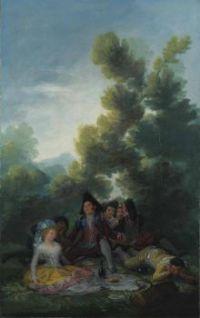 Goya - The Picnic (1888)