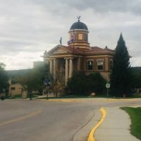 Weston County, Wyoming Courthouse In Newcastle