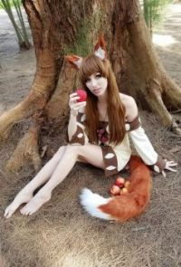Holo the Wise Wolf - Woods, by MeganCoffey  (Small)
