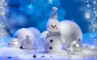 Snowmen from top-christmas-wallpapers-1