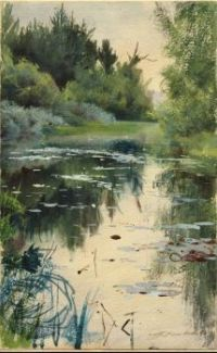 "Anders Zorn, ""A Natural Landscape"", 1886"