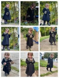 Maddie's New Coat & Boots!!