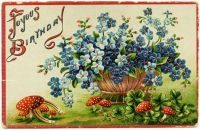 Neat old Birthday Card