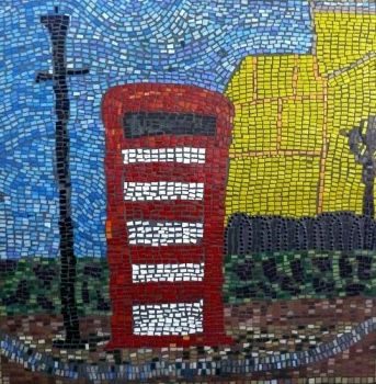 Mosaic - Telephone Box