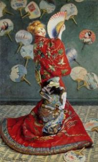 Claude Monet - Camille Monet in a Kimino, 1875 (May17P06)