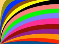 Blown away colors