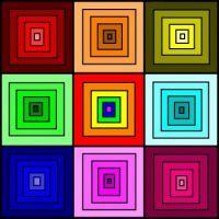 Shaded Squares - Medium