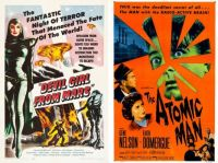 Devil Girl from Mars - 1954 and The Atomic Man ~ 1955