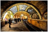 New York's famous City Hall subway station