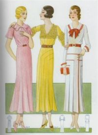 Lovely Dresses from the Thirties