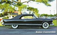 Kaiser prototype convertible