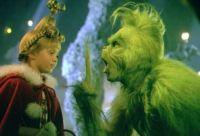 Cindy Lou Who & Grinch