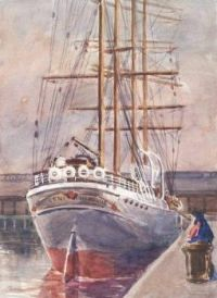 William Galloway—Leni of Hambourg, York Dock, 1914
