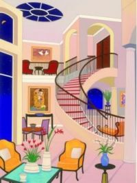 """Interior with Klimt"""