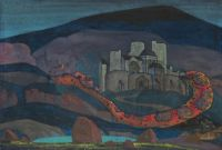 The Doomed City, 1914, Nicholas Roerich