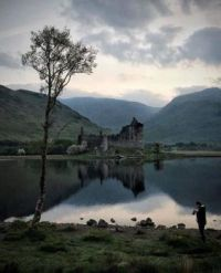 Kilchurn Castle, Loch Awe, Scotland. UK