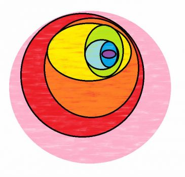 rainbow ovals