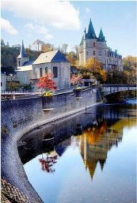 Charming Small Medieval City of Durbuy - Belgium