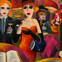 champagne party by the French artist Fauve