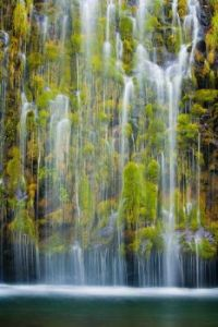 mossbrae Falls, California