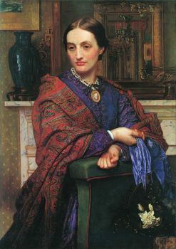 Hunt - portrait-of-fanny-holman-hunt-1868