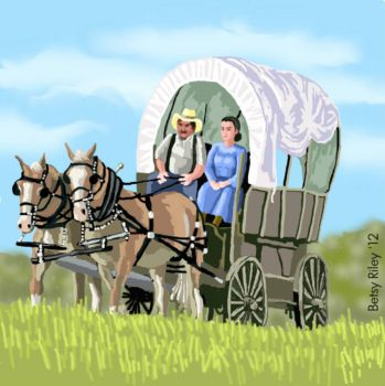 Days of covered wagons!!!