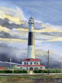 Absecon Light at Atlantic City, New Jersey