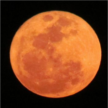Full Red Moon