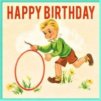 Themes Vintage illustrations/pictures - Birthday Card