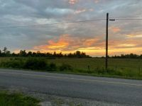 Evening sky in July