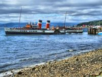 HDR of the Paddle Steamer Waverley underway, at Largs - 11th Jul 2007