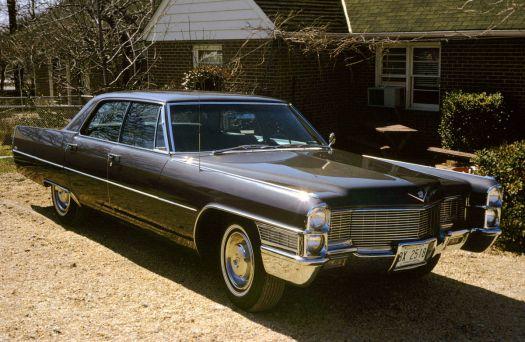 My dad's 1965 Cadillac Calais