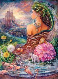 Goddess Poster - Josephine Wall, Artist