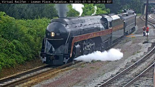 steamer #611 at Paradise,PA/USA