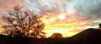 Agua Dulce Sunset