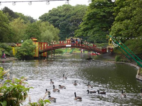 Peasholme Park Scarborough East Yorkshire