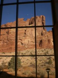 Arches NP #6 Visitor Center view