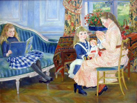 renoir- children's afternoon at wargemont