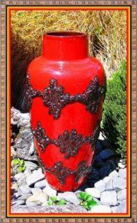 A Red Lava Eruption.