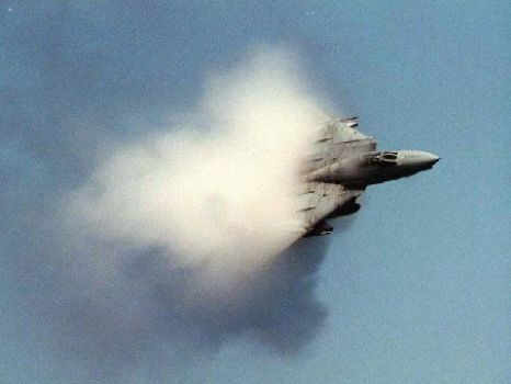 Breaking of the sound barrier