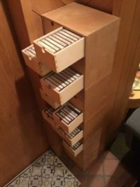 Just a few cassettes....