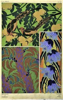 Seguy - Bouquets et frondaisons. 60 motifs en couleur, 1924